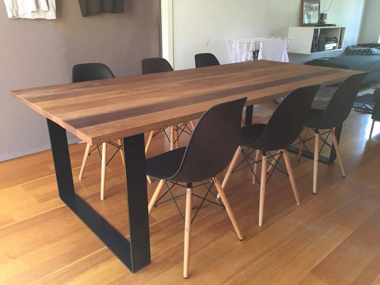 Spotted Gum Dining Table Balwyn