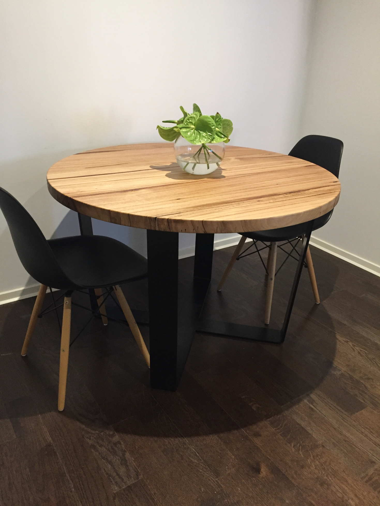Vic Ash Round Table Custom Made Furniture Amp Dining